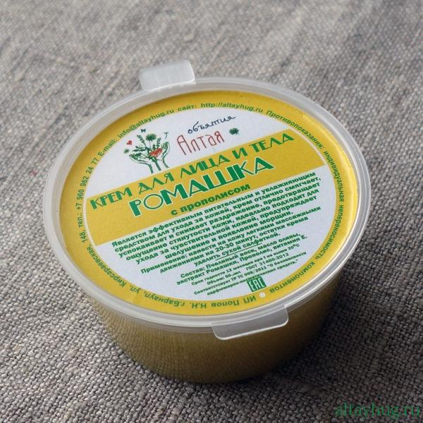 Интернет магазин Объятия Алтая крем 012 ромашка