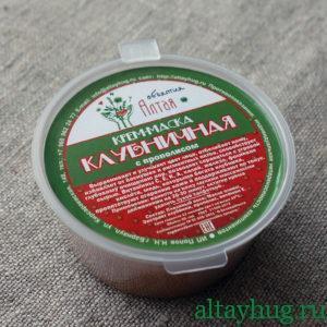 Интернет магазин Объятия Алтая крем маска 013 клубничная