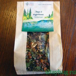 Травяной чай Утро в кедровнике