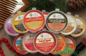 Натуральные крема Объятия Алтая